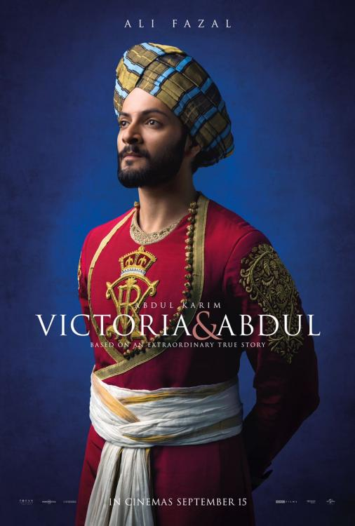 Ali Fazal first official poster of Victoria and Abdul