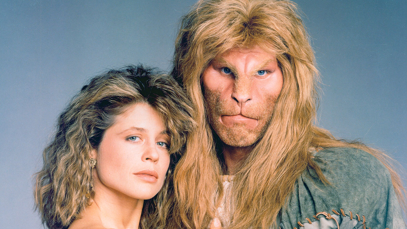 Beauty and the Beast (CBS) 1987-1990 Shown: Ron Perlman, Linda Hamilton